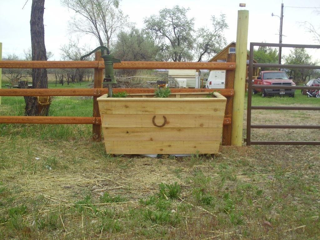 Picture of Horse Trough Planter