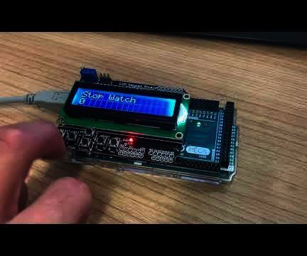 Arduino HMI Using State Machine