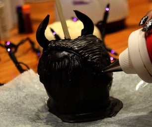 MLAB   MAGNIFICENT MALEFICENT CARAMEL APPLE USING 3D PRINTING