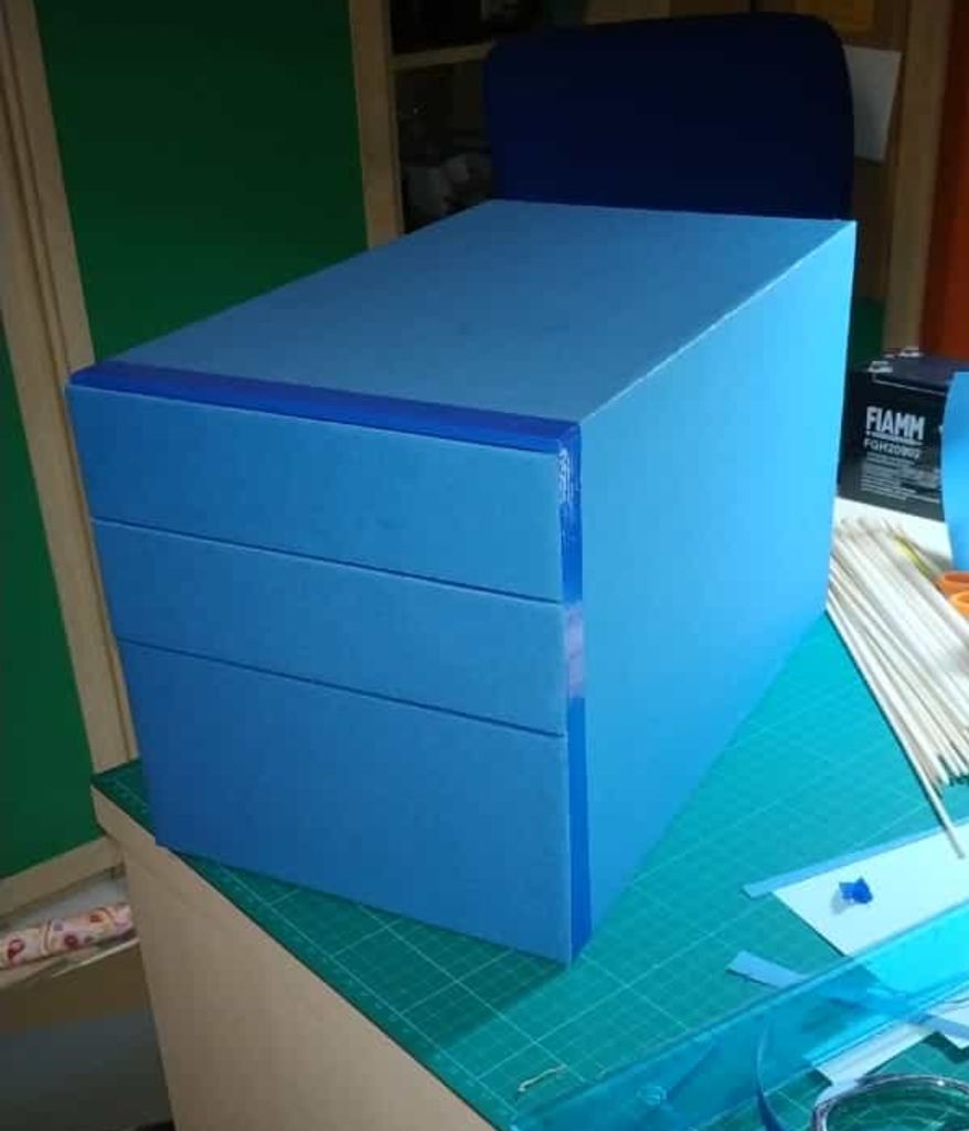 Picture of Cardboard, Paper and Tape Drawers