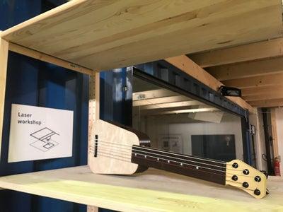 3D Printed Guitalele (6 String Ukulele)