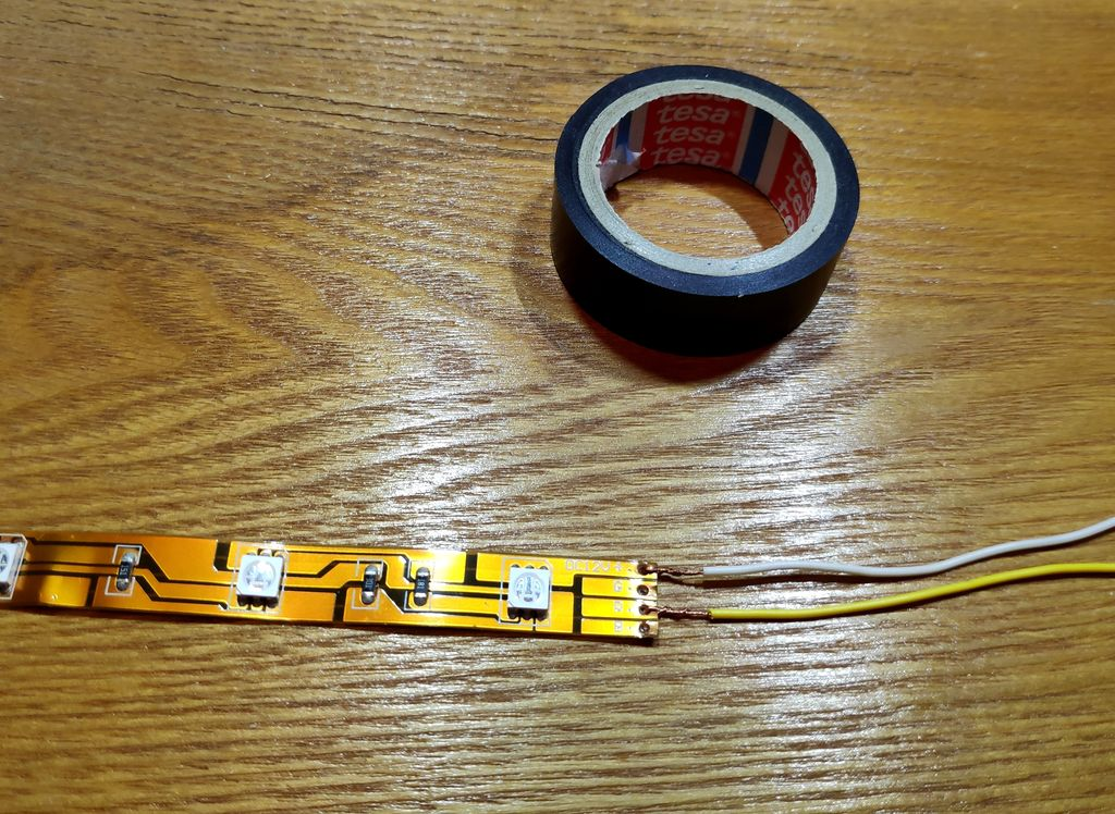 Picture of Preparing Led-strip