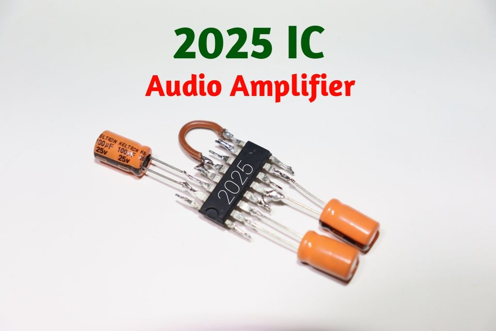 Picture of 2025 IC Audio Amplifier Circuit