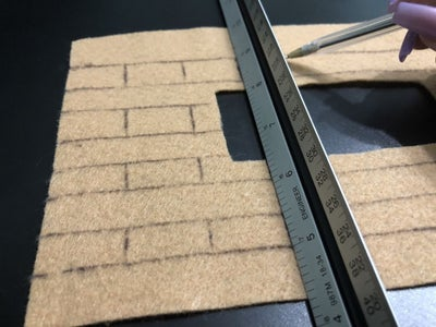 Draw the Hearth's Bricks
