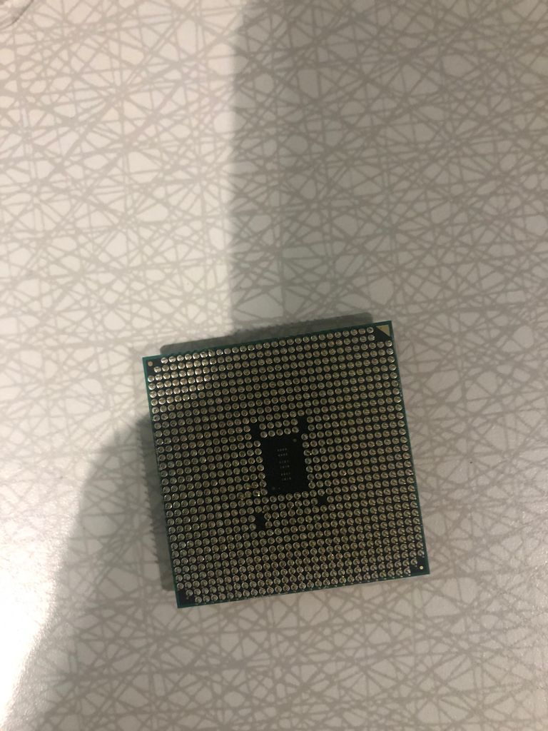 Picture of Installing CPU