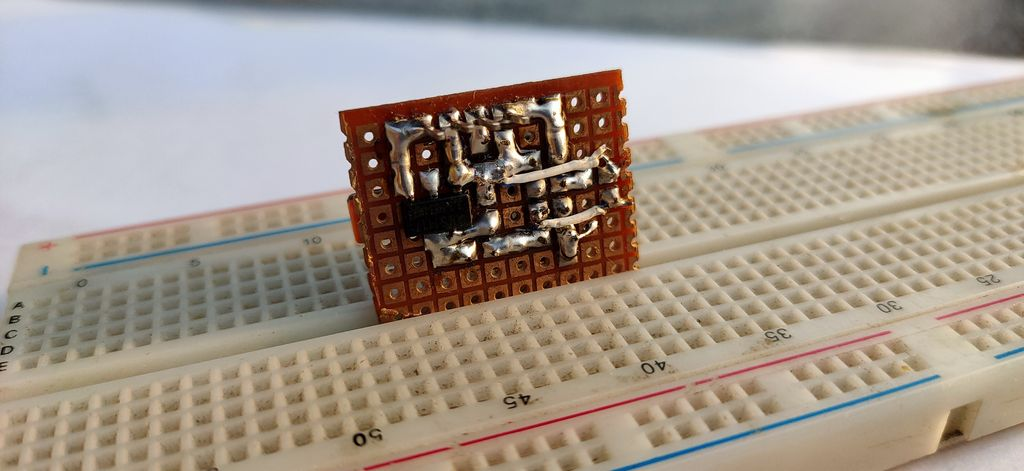Picture of Completing the Soldering Process