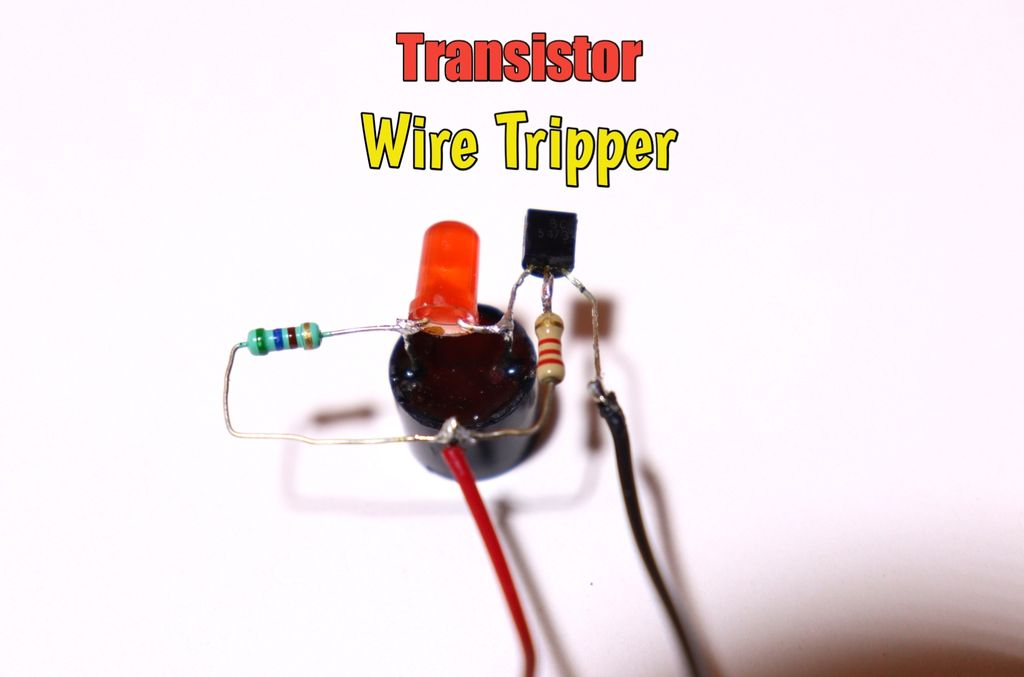 Picture of How to Make Wire Tripper Circuit Using BC547 Transistor