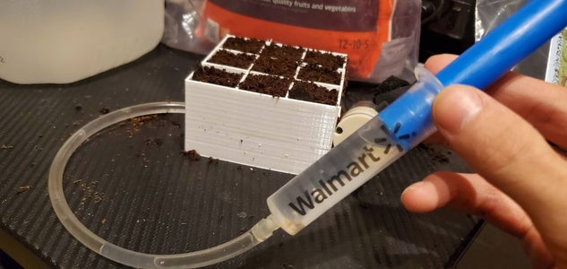 Injecting, Planting and Watering Your Plants