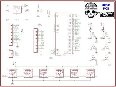 HB50 Printed Circuit Board