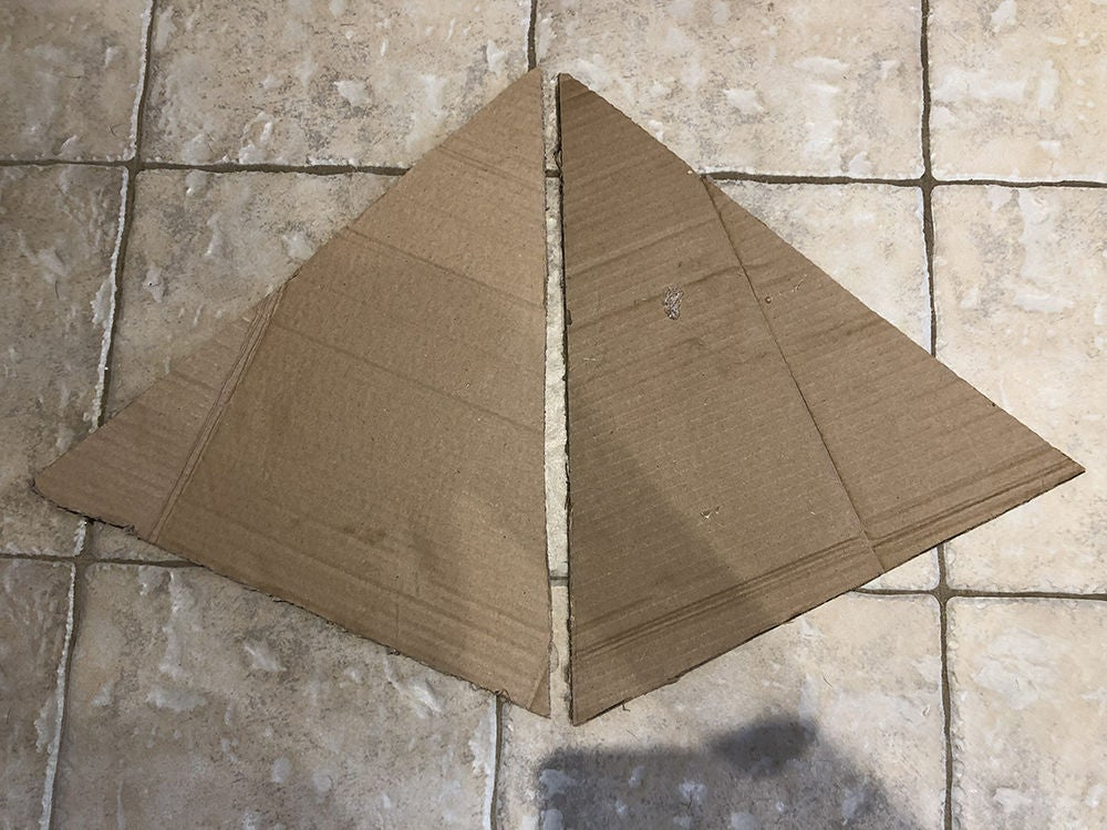 Picture of Draw and Cut Out Pyramid Sides