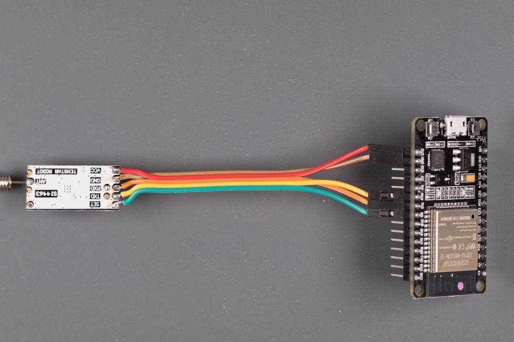 Picture of Connecting HC-12 Module to ESP32