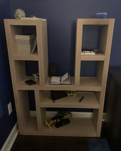 Twin Tower Shelf