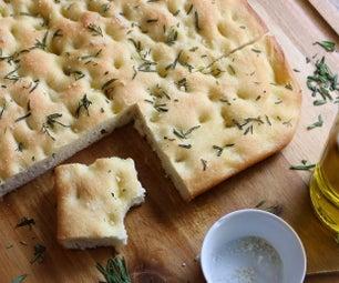 佛卡夏面包|简易面包食谱,适合初学者