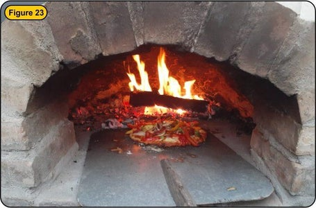 Curing the Pizza Oven