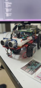 Robotic Car From Raspberry PI