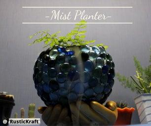 如何使雾播种机蕨类|室内花园DIY由RusticKraft