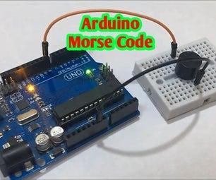 Arduino Morse Code Generator | SOS Morse Code Arduino