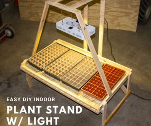 轻松DIY室内植物站在灯