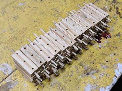 Attaching the Bamboo Sticks