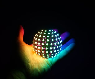 Freeform LED Sphere