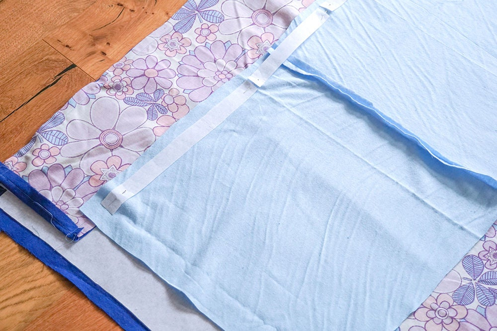 Picture of Add Interfacing & Sew the Central Section