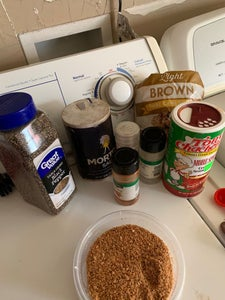 Measure Out Ingredients for Dry Rub Into Small Bowl and Mix Until Well Blended
