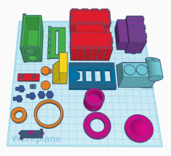 Picture of Step 3: 3D Printing Parts