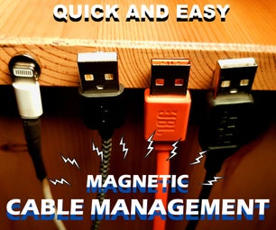 MAGNETIC Cable Organisation