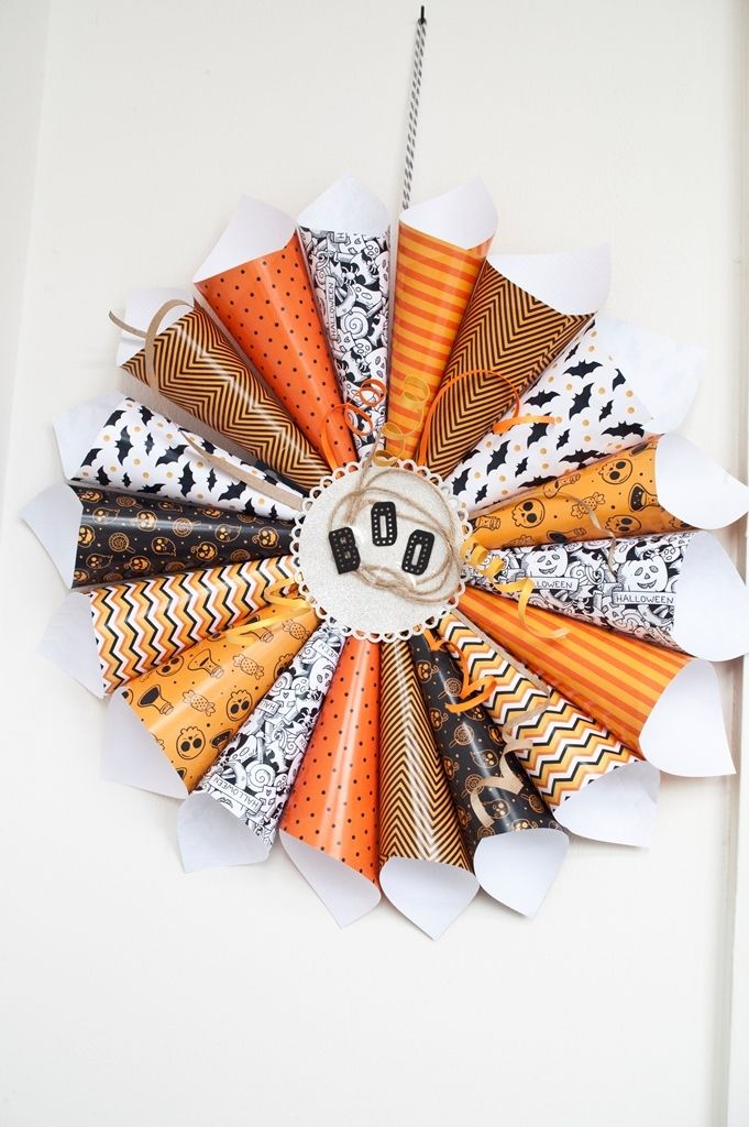Picture of Cute Halloween Wreath