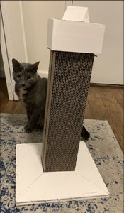 Laser Toy Cat Scratching Post