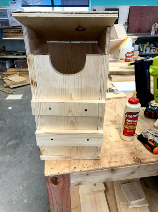 Picture of Sreeching Owl Bird House