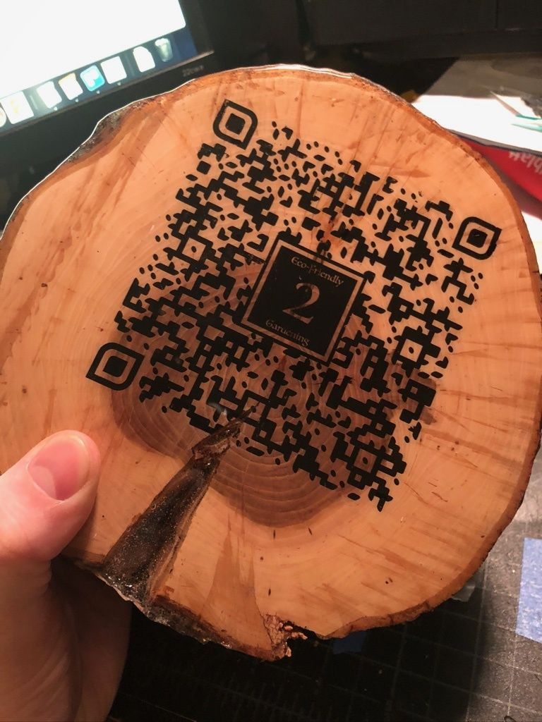 Picture of QR Code Logs