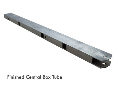 Finishing the Central Box Tube