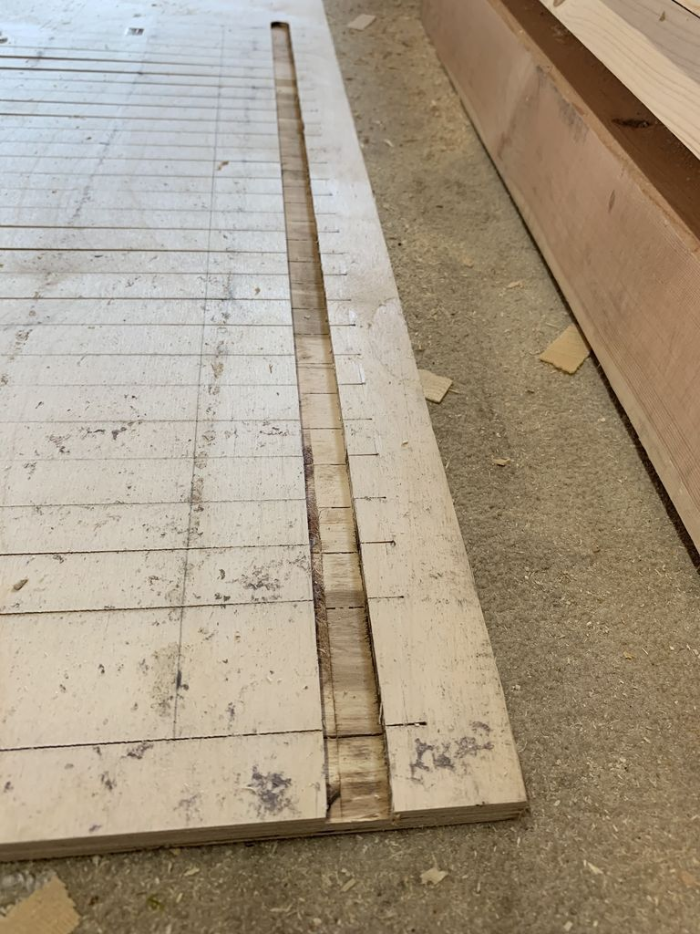 Picture of Cutting the Scrolling Panel