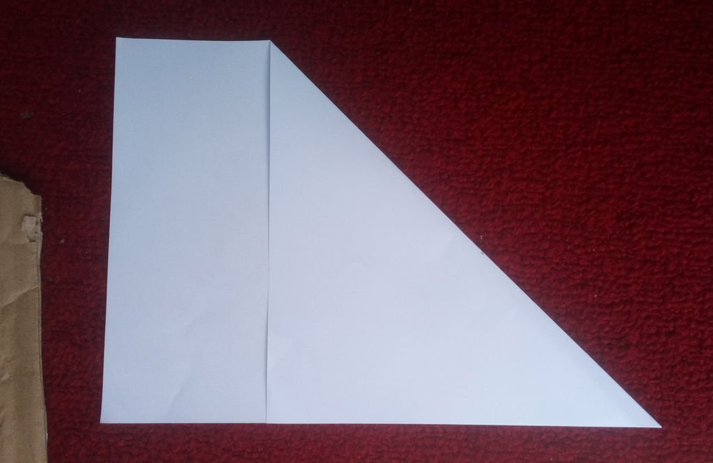 Picture of Square the A4 Paper