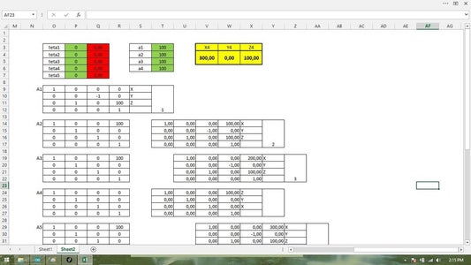 Step 4 : Excel Simulation