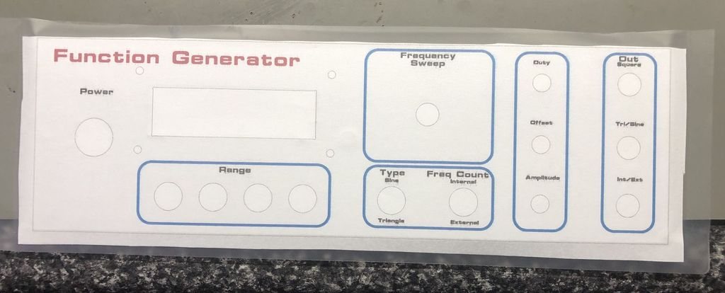 Picture of Attach Your Front Panel Design