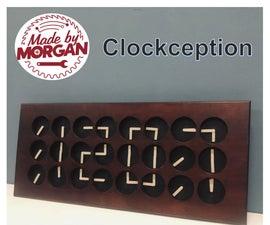 Clockception - How to Build a Clock Made From Clocks!