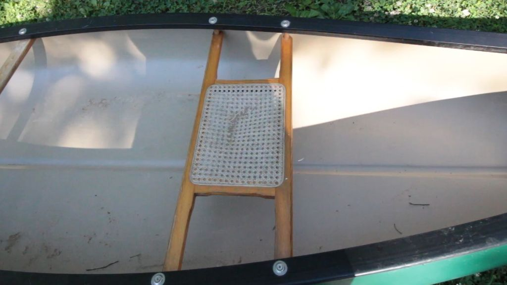 Picture of Canoe Cane Seat Repair