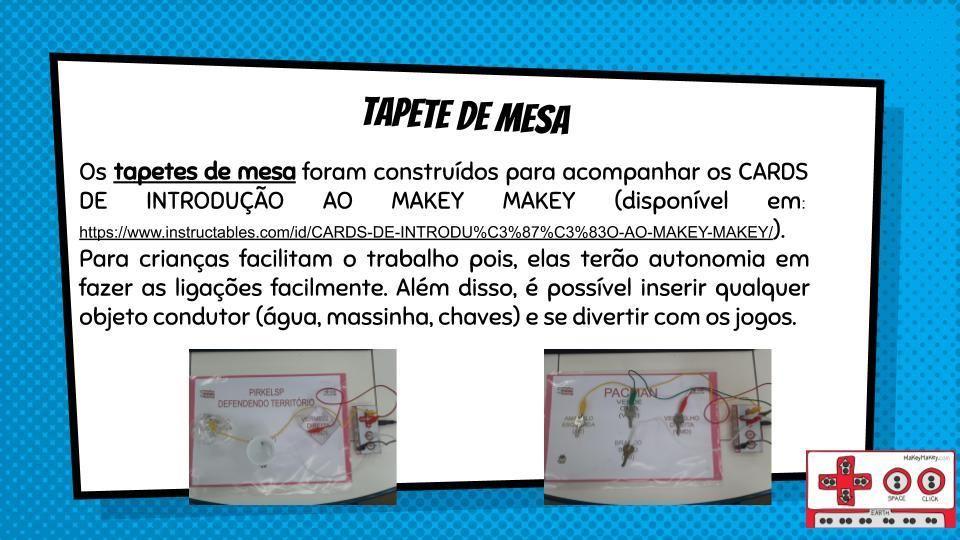Picture of TAPETE DE MESA PARA MAKEY MAKEY