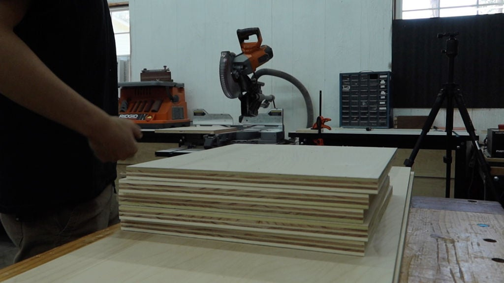Picture of Cut Pieces Down to Length for Dividers