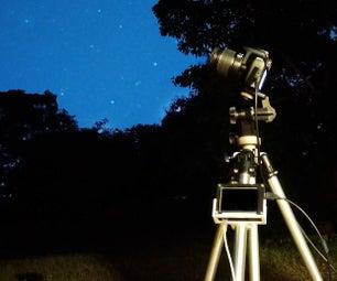 长时间曝光和天文摄影用树莓派