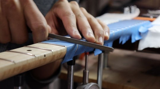 Fret Work and Tune-Up (part 2)