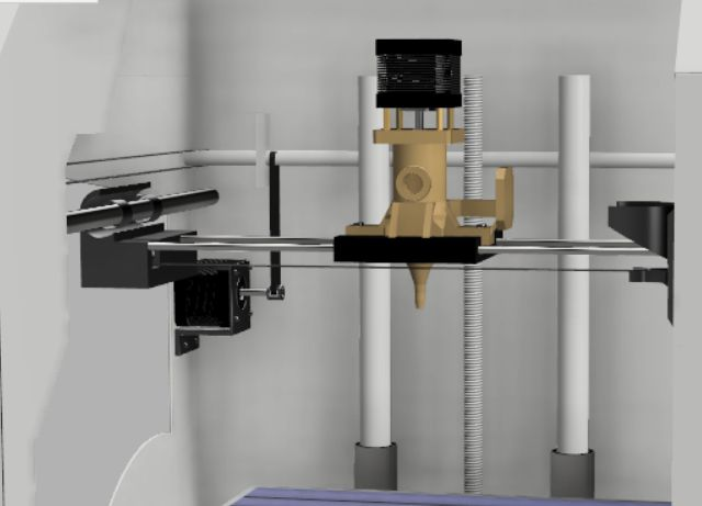 Picture of Model Design of Extrusion System