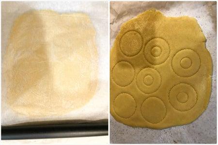 Making Cookie #4 Linzer Cookie