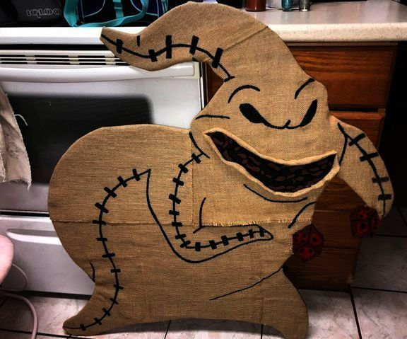 The Oogie Boogie Inspired Yard Decor