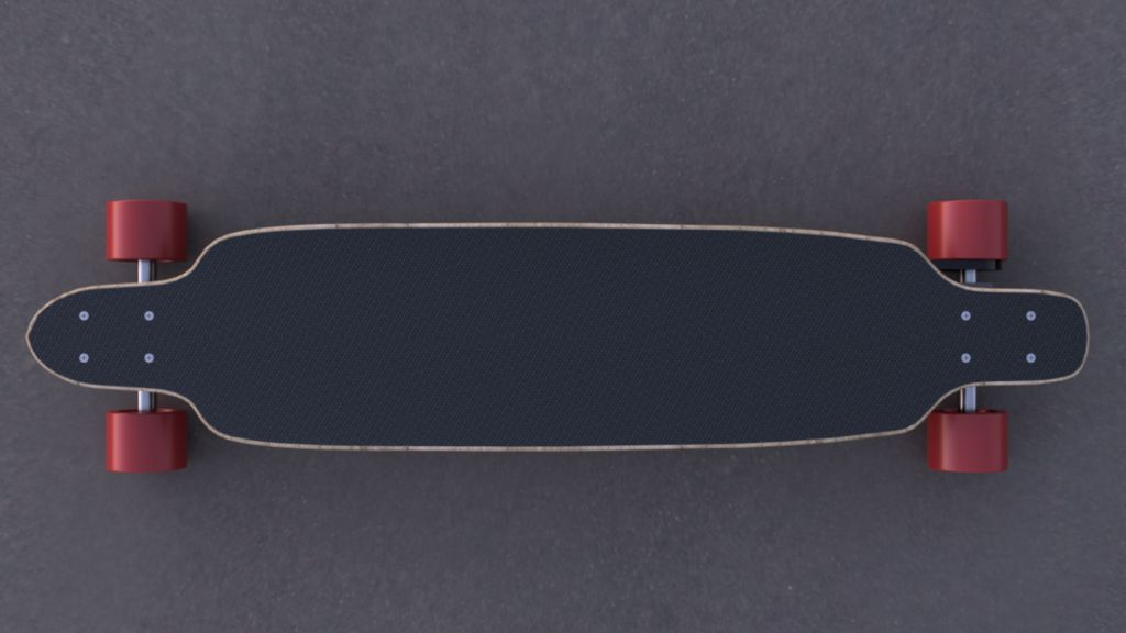 Picture of Electric Longboard in Fusion 360
