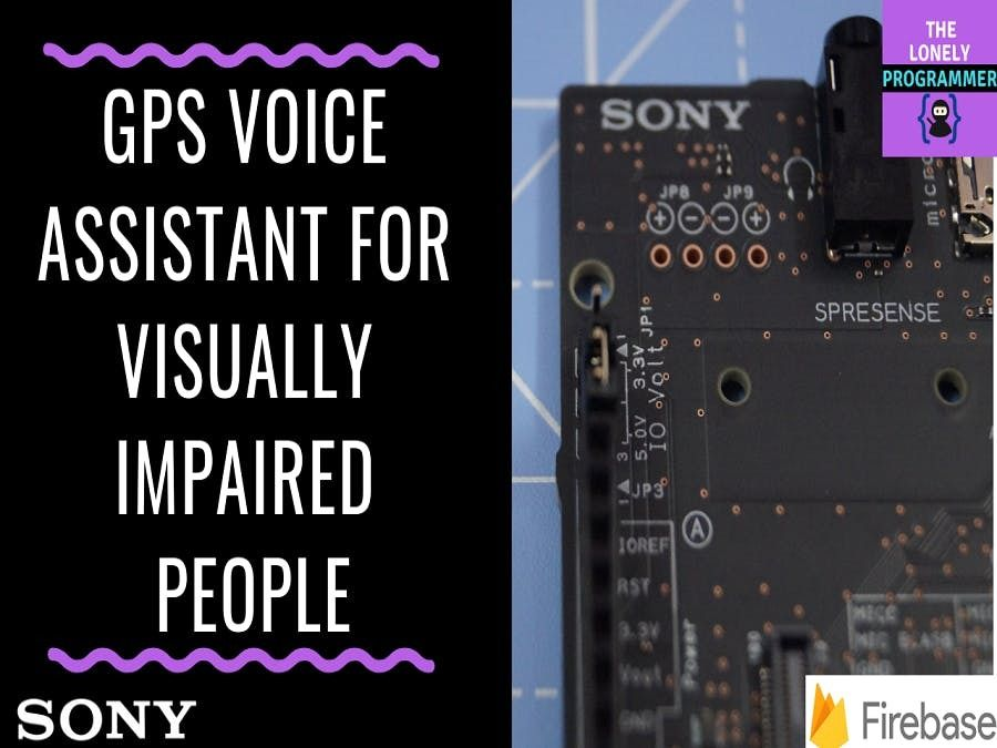 Picture of GPS Voice Assistant for Visually Impaired People