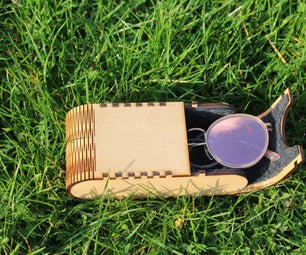 Laser Cut Glasses Case