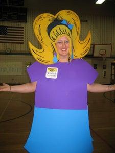 Mrs. Flat Stanley Costume